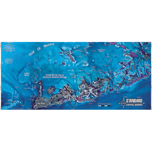 Standard Mapping Key West Chart (#F104)