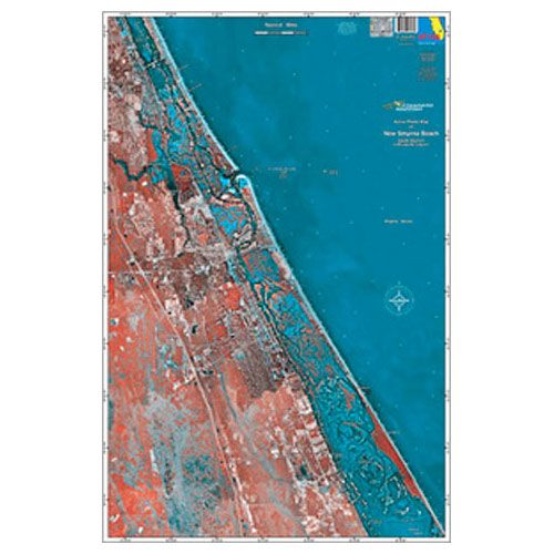 Standard Mapping New Smyrna Beach Chart (#F138)