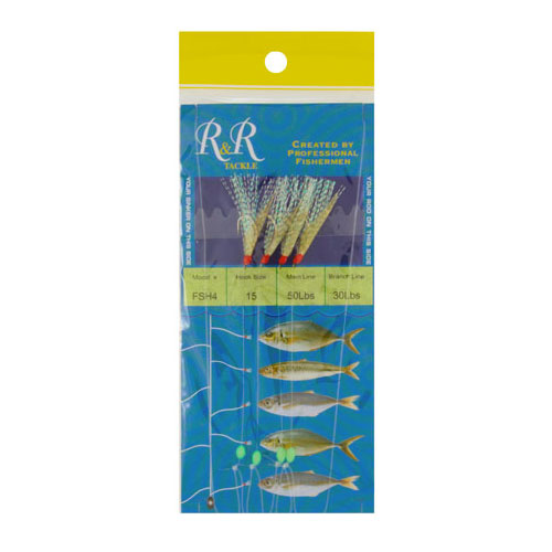 R&R Tackle Sabiki Rig - Blue Runner (FSH4)