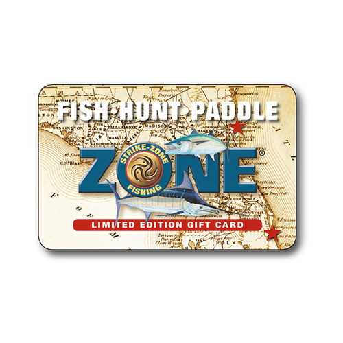 Strike-Zone Fishing Limited Edition Gift Card